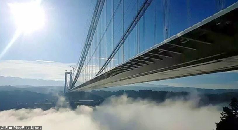 20 kwietnia 2016 roku otwarto najdłuższy i najwyższy most Azji /CEN