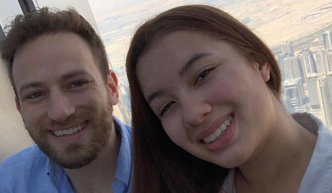 20-letnia Caroline Crouch wraz ze swoim mężem /Instagram /