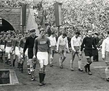 20 października 1957 r. Polscy piłkarze pokonali reprezentację ZSRR
