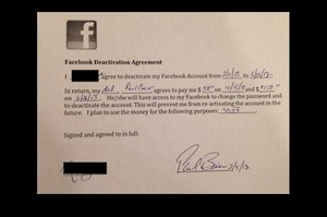 200 dolarów za 5 miesięcy bez Facebooka