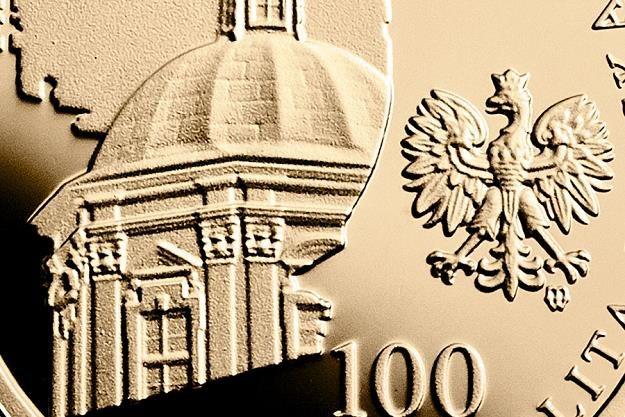 200-lecie istnienia Zakładu Narodowego im. Ossolińskich, 100 zł, detal awersu /NBP