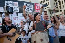 200 tys. ludzi na ulicach Mińska. Białorusini domagają się rozpisania nowych wyborów