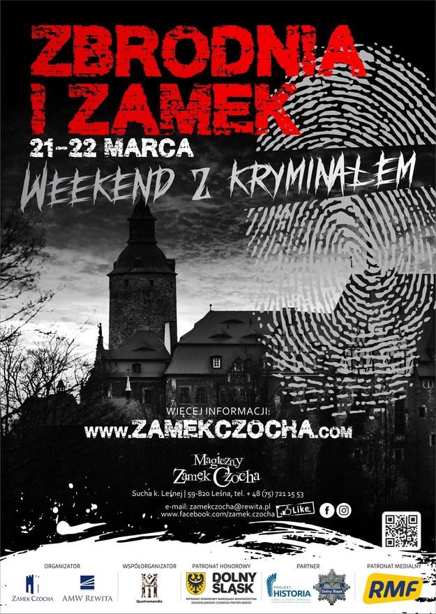 """21-22 III 2020 roku na Zamku Czocha odbędzie się weekend z kryminałem """"Zbrodnia i zamek"""". /Materiały prasowe"""