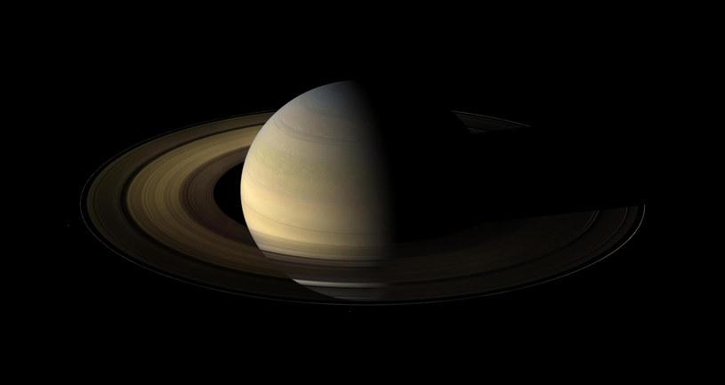 21 grudnia Wielka Koniunkcja Jowisza i Saturna. Na zdjęciu ta ostatnia planeta /NASA /AFP
