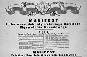 21 lipca 1944 r. W Moskwie powołano Polski Komitet Wyzwolenia Narodowego