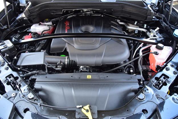 210-konny diesel ma wiele zalet i jedną wadę: zbyt donośny odgłos przy ruszaniu. /Motor