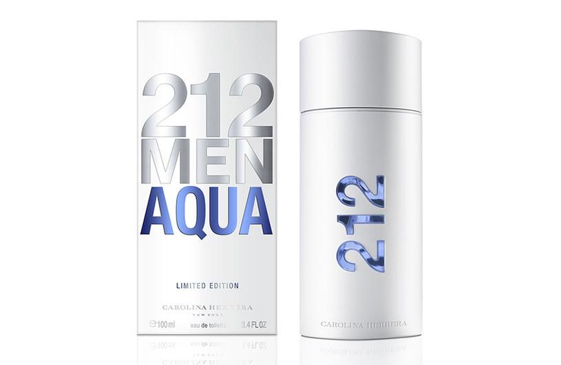 212 Men Aqua Carolina Herrera /materiały prasowe