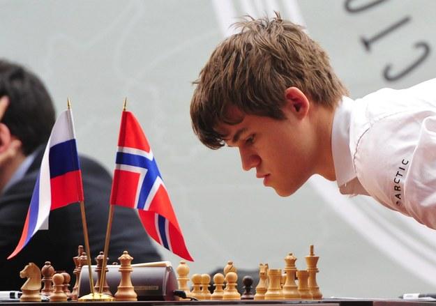 22-letni Norweg Magnus Carlsen zawsze miał świetną pamięć /Photoshot    /PAP/EPA