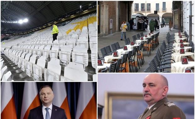 22 przypadki koronawirusa w Polsce. Odwołane imprezy masowe, orędzie prezydenta Dudy [PODSUMOWANIE DNIA]
