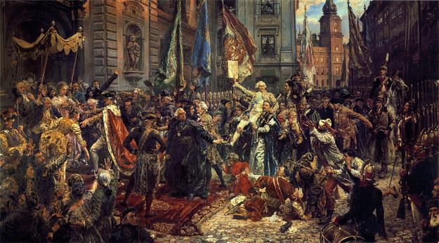 229. rocznica uchwalenia Konstytucji 3 maja /domena publiczna