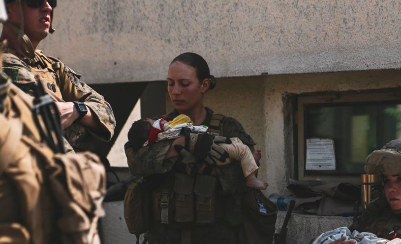23-letnia Nicole Gee zginęła w Kabulu /U.S. Department of Defense /Twitter