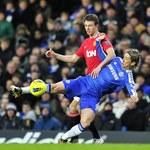 24. kolejka Premier League: Chelsea Londyn - Manchester United 3-3