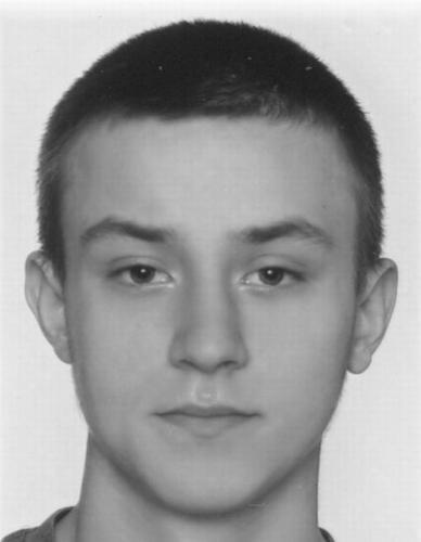 24-letni Bartosz Rosiński, za którym wydano list gończy /Policja Łódź /Archiwum