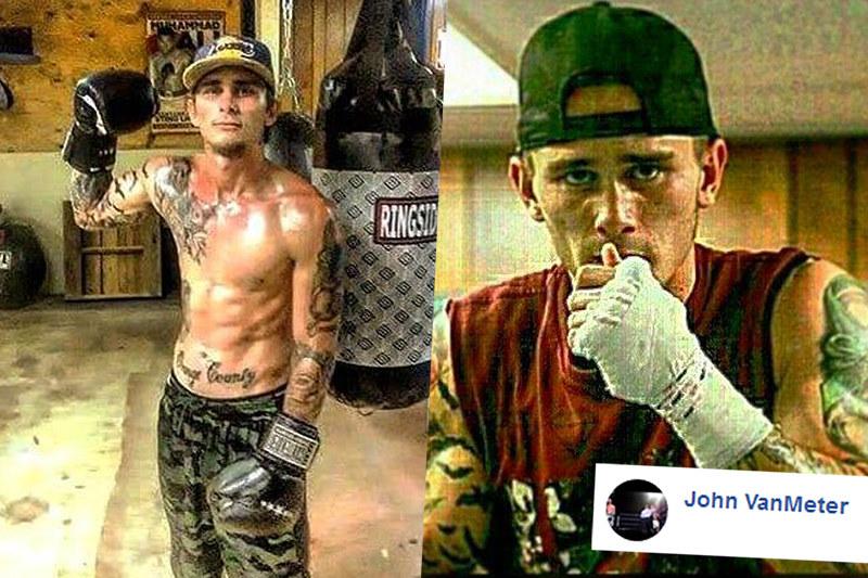 24-letni pięściarz John Duane VanMeter został zastrzelony we własnym domu. Oskarżony o morderstwo jest... 12-latek /Facebook/jvanmete7 /