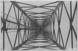 24 maja 1931 r. Maszt radiowy w Raszynie