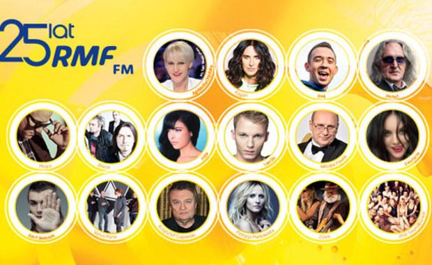 25 lat RMF FM. Już dziś wielka gala!