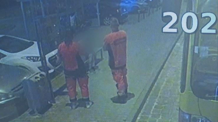 25-latek z przystanku MPK trafił do izby wytrzeźwień. Tam zmarł po tym, jak wobec niego interweniowali policjanci /Polsat News