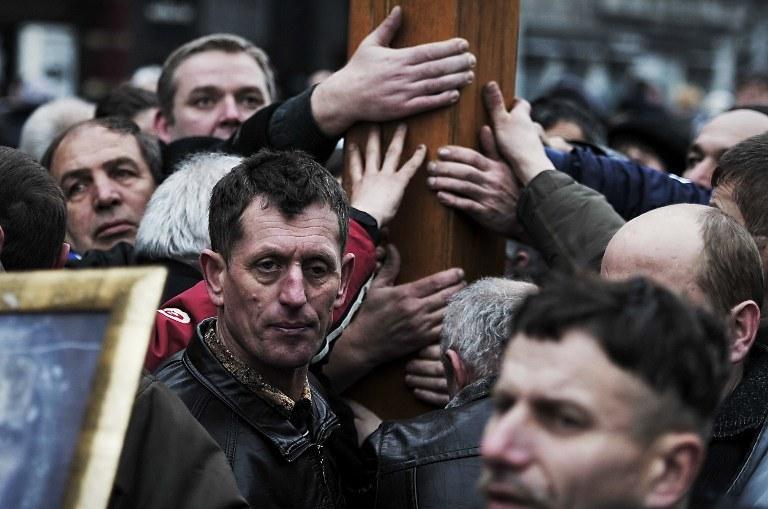25 maja na Ukrainie odbędą się wybory prezydenckie. /AFP