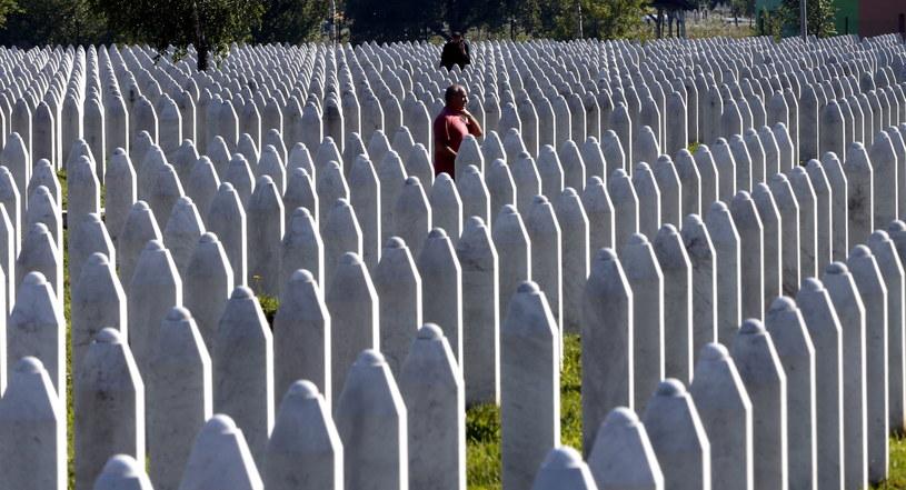 25. rocznica masakry w Srebrenicy /FEHIM DEMIR /PAP/EPA