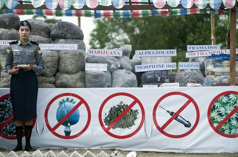 26 czerwca jest od 1987 roku Międzynarodowym Dniem Przeciwdziałania Nadużywaniu Środków Odurzających i Nielegalnemu Handlowi /AFP