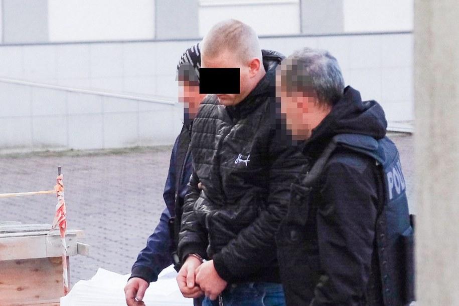 26-letni mężczyzna usłyszał zarzuty /Foto. Komenda Miejska Policji w Toruniu /