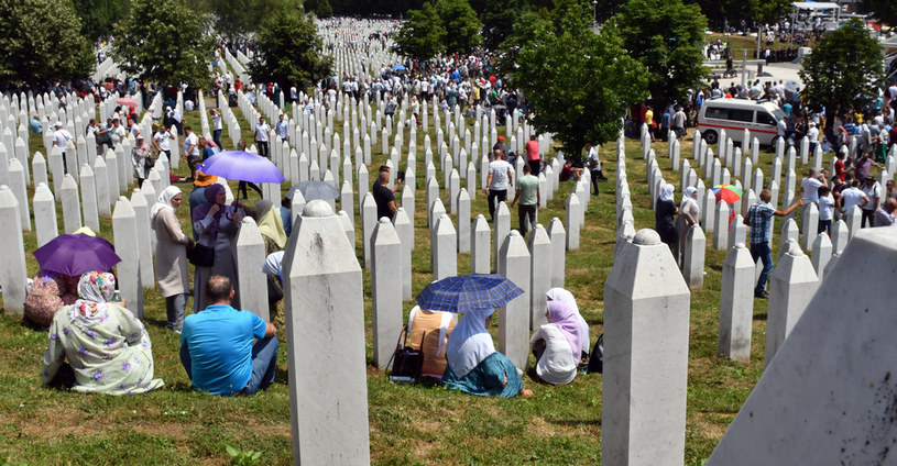 26. rocznica masakry w Srebrenicy /ELVIS BARUKCIC /AFP
