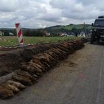 260 niewybuchów znaleziono w czasie remontu drogi
