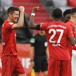 27. bramka Lewandowskiego w sezonie, Bayern Monachium pokonał Eintracht Frankfurt