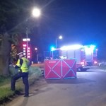 27-latek zginął w wypadku w Pasłęku. Mężczyzna nie zatrzymał się do kontroli