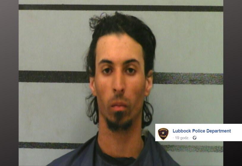 27-latek został aresztowany pod zarzutem zabójstwa 10-miesięcznego dziecka /LUBBOCK POLICE DEPARTMENT /