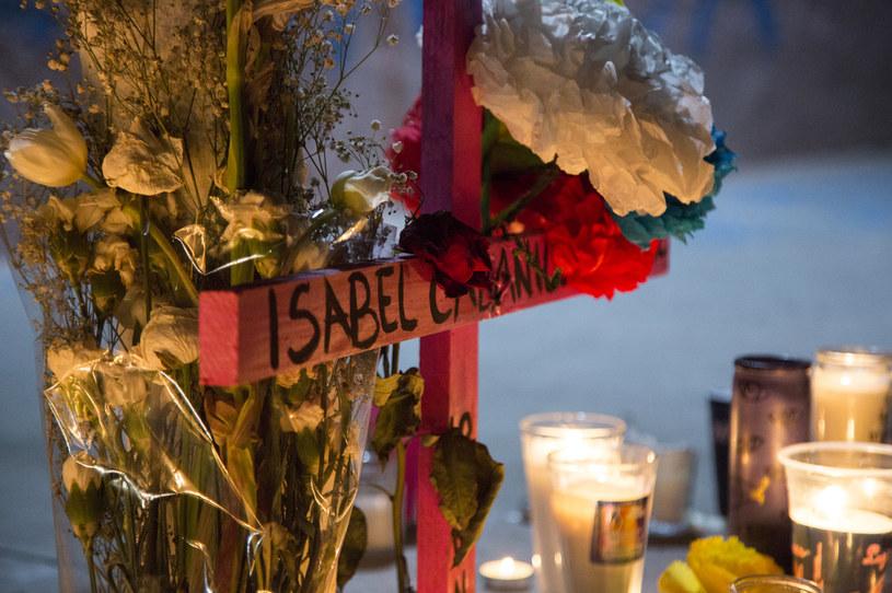 27-letnia aktywistka i obrończyni praw kobiet Isabel Cabanillas została zamordowana w roku 2020 w Meksyku /Getty Images