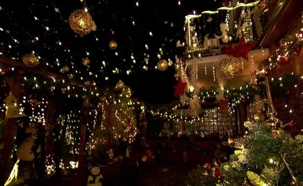 2700 świątecznych dekoracji na 95 metrach kwadratowych