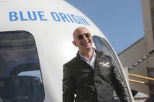 28 mln dolarów - tyle będzie kosztował lot w kosmos z Jeffem Bezosem