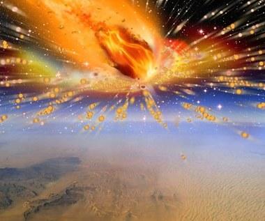 28 mln lat temu nad Egiptem wybuchła kometa