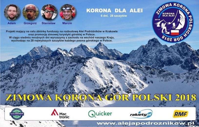 28 najwyższych szczytów Polski w siedem dni. To prawdziwe wyzwanie! /materiały promocyjne
