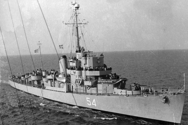 28 października 1943 r. USS Eldridge po prostu zniknął (Fot. Navsource) /Internet