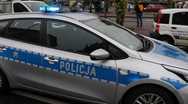29-letni mieszkaniec powiatu rawskiego był sprawcą tragicznego wypadku, który w sobotę zakończył się pożarami dwóch samochodów /Jacek Skóra /RMF FM