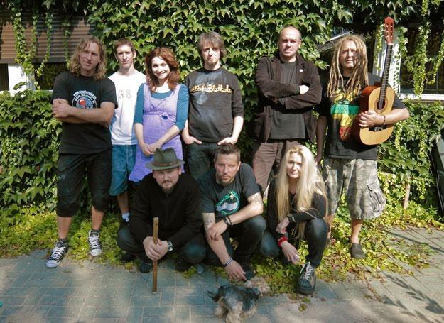 2Tm2,3 podczas nagrań nowej płyty w Puszczykowie /Oficjalna strona zespołu