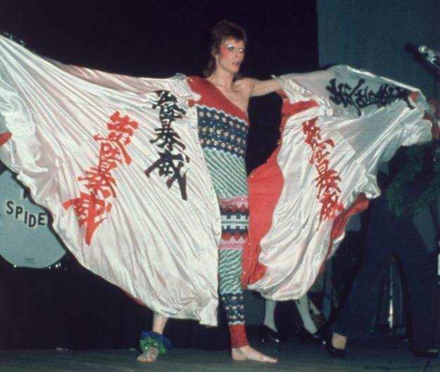 """3 lipca 1973 roku - ostatni koncert Ziggy'ego Stardusta przed """"emeryturą"""" fot. Hulton Archive /Getty Images/Flash Press Media"""