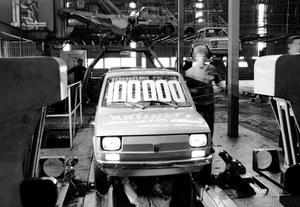 3 lutego 1975 r. - wyprodukowanie 100-tysięcznego Fiata 126p w Bielsku-Białej. /Fiat