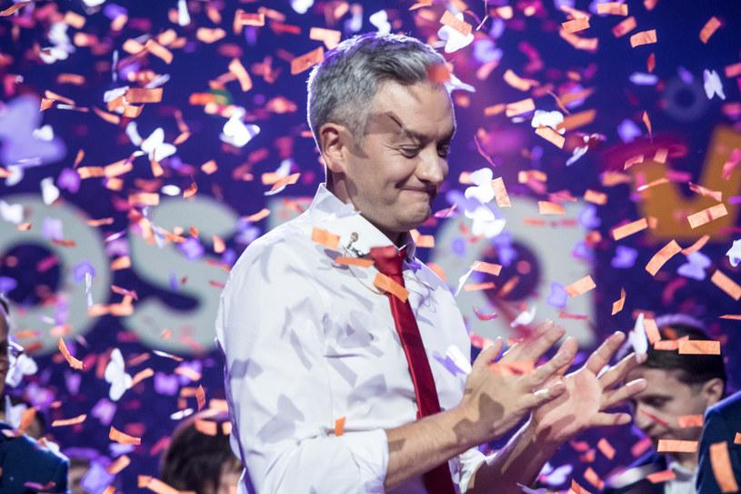 3 lutego na warszawskim Torwarze odbyła się konwencja założycielska partii Roberta Biedronia /Jacek Dominski/REPORTER /Reporter