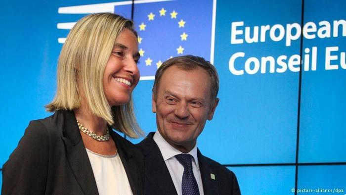 30.08.2014, nadzwyczajny szczyt UE. Donald Tusk wybrany na nowego Przewodniczącego Rady Europejskiej. /Deutsche Welle