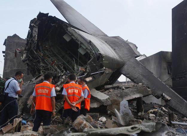 30 czerwca licząca 54 lata maszyna runęła na ziemię krótko po starcie z miasta Medan na Sumatrze /AP/FOTOLINK /East News
