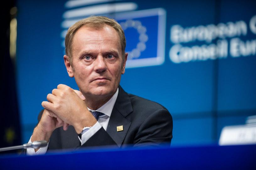 30 sierpnia 2014 roku Rada Europejska wybrała Donalda Tuska na swojego przewodniczącego /Bartosz Krupa / East News /East News
