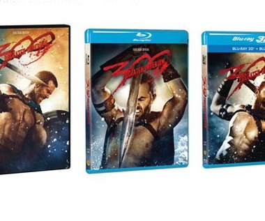 """""""300: Początek imperium"""" na Blu-ray 3D, Blu-ray i DVD"""