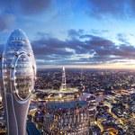 305-metrowy tulipan nową atrakcją Londynu
