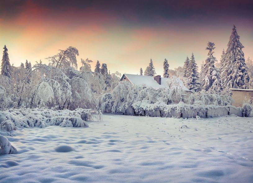 31 grudnia w kilku województwach będzie padać śnieg /123RF/PICSEL