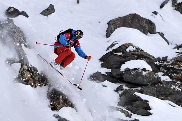 31-letni Cody Townsend jest pasjonatem narciarstwa ekstremalnego /AFP