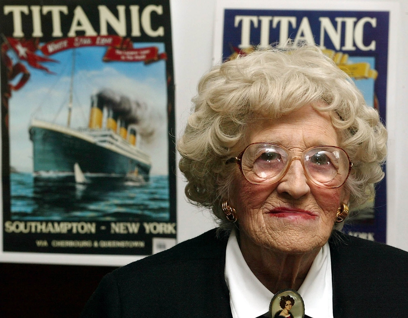 31 maja 2009 roku zmarła ostatnia ocalała pasażerka Titanica - Millvina Dean /East News