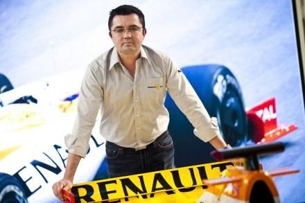 31 stycznia przekonamy się, jak wyglądał będzie blid teamu Renault. /AFP
